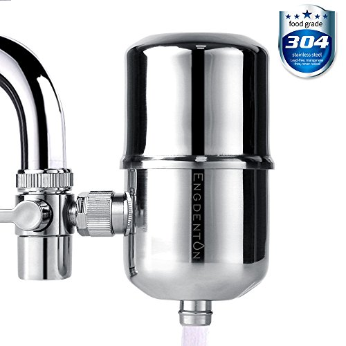 Engdenton 6 Stage faucet Water Filter, Water Purifier Stainless-steel No-cracking No-leakage, water filters for faucets by Engdenton