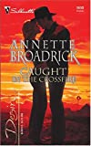 img - for Caught in the Crossfire: The Crenshaws of Texas (Harlequin Desire) book / textbook / text book