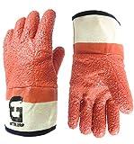 Better Grip BG23173 Premium Raised Finish Monkey Grip Jersey Glove, Vinyl Coating, Safety Cuff, One Size (12 Pair)