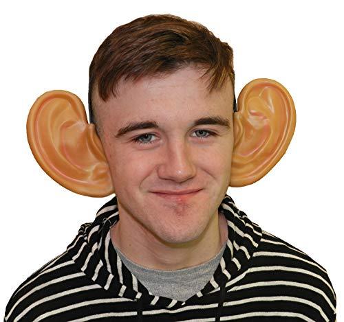 FancyPants FunTime Giant Ears Jumbo Ears Headband Costume Beige]()