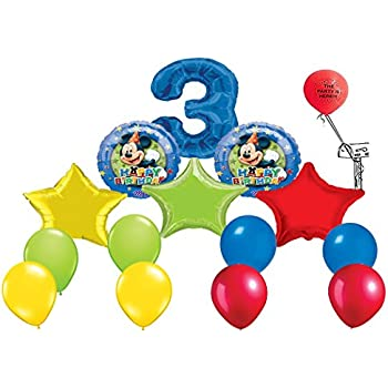 Amazon.com: Mickey Mouse Clubhouse Happy tercer cumpleaños ...