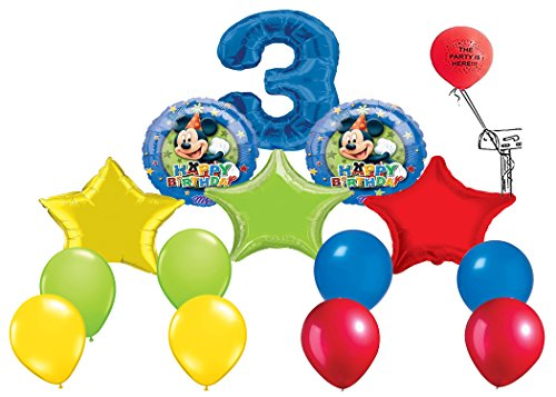 Mickey Mouse Clubhouse Happy 3rd Birthday Balloon