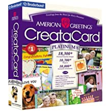 Amazon cddvd american greetings brands software american greetings creatacard platinum 8 old version m4hsunfo Gallery