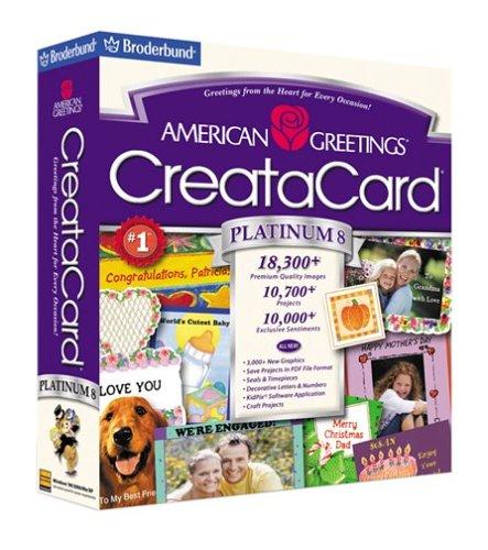 Amazon american greetings creatacard platinum 8 old version american greetings creatacard platinum 8 old version m4hsunfo