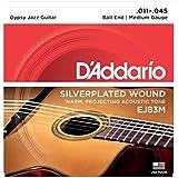 D'Addario EJ83M - Juego de cuerdas para guitarra acústica, .011 - .045