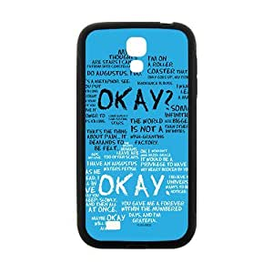 okay? okay. Phone Case for Samsung Galaxy S4 Case