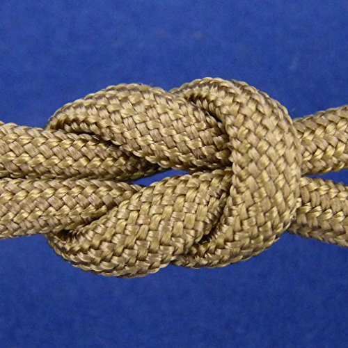 MilSpec Paracord Coyote Brown 498, 55 ft. Hank, Military Survival Braided Parachute 550 Cord. Use with Paracord Tools for Tent Camping, Hiking, Hunting Ropes, Bracelets & Projects. Plus 2 eBooks. by Paracord 550 Mil-Spec (TM) (Image #9)