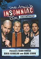 THE 'INSOMNIAC TOUR' TRAVELED TO OVER 35 MAJOR CITIES ACROSS THE US IN 2005.Inspired by Dave Attell's popular Comedy Central series, this concert movie deposits him and three fellow comics, including the wildly popular Dane Cook, at the House...