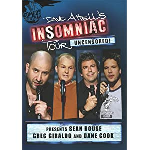 Dave Attell Insomniac Tour Presents - Sean Rouse, Greg Giraldo & Dane Cook | NEW COMEDY TRAILERS | ComedyTrailers.com