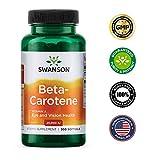 Swanson Beta-Carotene Vitamin A 25000 IU Skin Eye