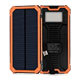 ELZLE Solar Charger 15000mAh Portable Power Bank