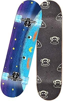 SMBYLL Rodamiento de Skate Profesional ABEC-11 monopatín ...