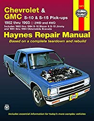 Image of the product Chevy S 10 & GMC S 15 that is listed on the catalogue brand of Haynes Manuals.