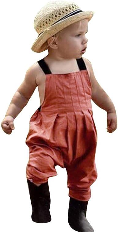 Divertido Pijama, K-Youth Peto Bebe Body Bebe Niña Tirantes Ropa para Bebés Pelele Bebe Niño Verano Bodies Niños Mameluco Bebe Recien Nacido Niñas Ropa Bebe Mono Bautizo Fiesta: Amazon.es: Ropa y accesorios