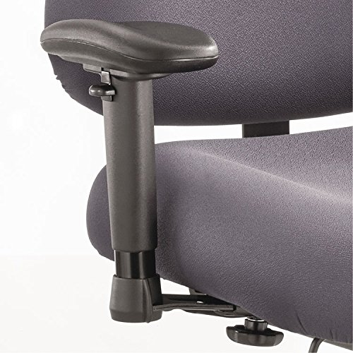 Safco Optional Height- and Width-Adjustable T-Pad Arms for Optimus Big amp; Tall Chairs