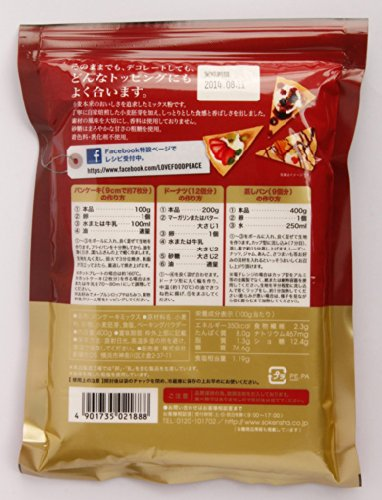 Pancake neo high mix sugar use 400gX3 bags