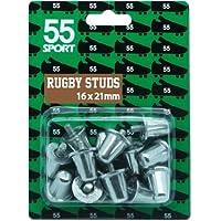 55 tacchetti in alluminio per rugby, ricambi. BS6366