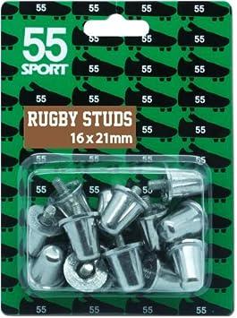 55Sport Crampons de remplacement en aluminium pour chaussures de rugby conformes à...