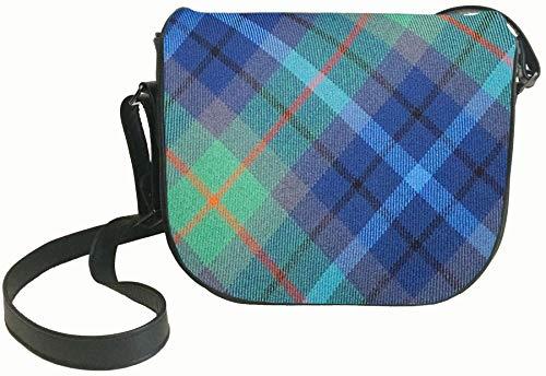 Inside Bag New Leather Pocket and Tartan Shoulder City York with Back Handbag BqBE7n8
