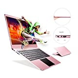 Fenniu Ultra Thin 14 inch laptop Computer intel Apollo Lake Celeron N3450 4GB Ram 64GB eMMC Supports M.2 SSD Upgrade(Up to 512 GB), USB 3.0, Bluetooth, Type C, Webcam, Windows 10 PC, Rose Gold