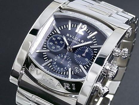 f598ff4dc2cc Amazon | [ブルガリ]BVLGARI アショーマ クロノグラフ 自動巻き AA44C14SSDCH-A [並行輸入] |  並行輸入品・逆輸入品・中古品(メンズ) | 腕時計 通販