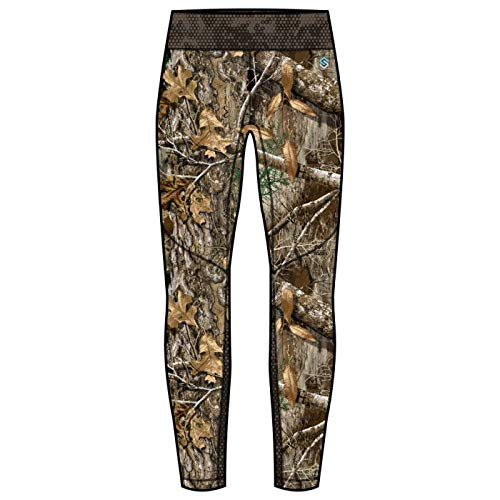 ScentLok Women's Baseslayers Amp Midweight Bottom Realtree Edge (XL) by ScentLok