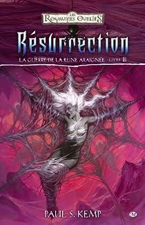 Les Royaumes Oubliés - La guerre de la Reine-Araignée, tome 6 : Résurrection par Kemp