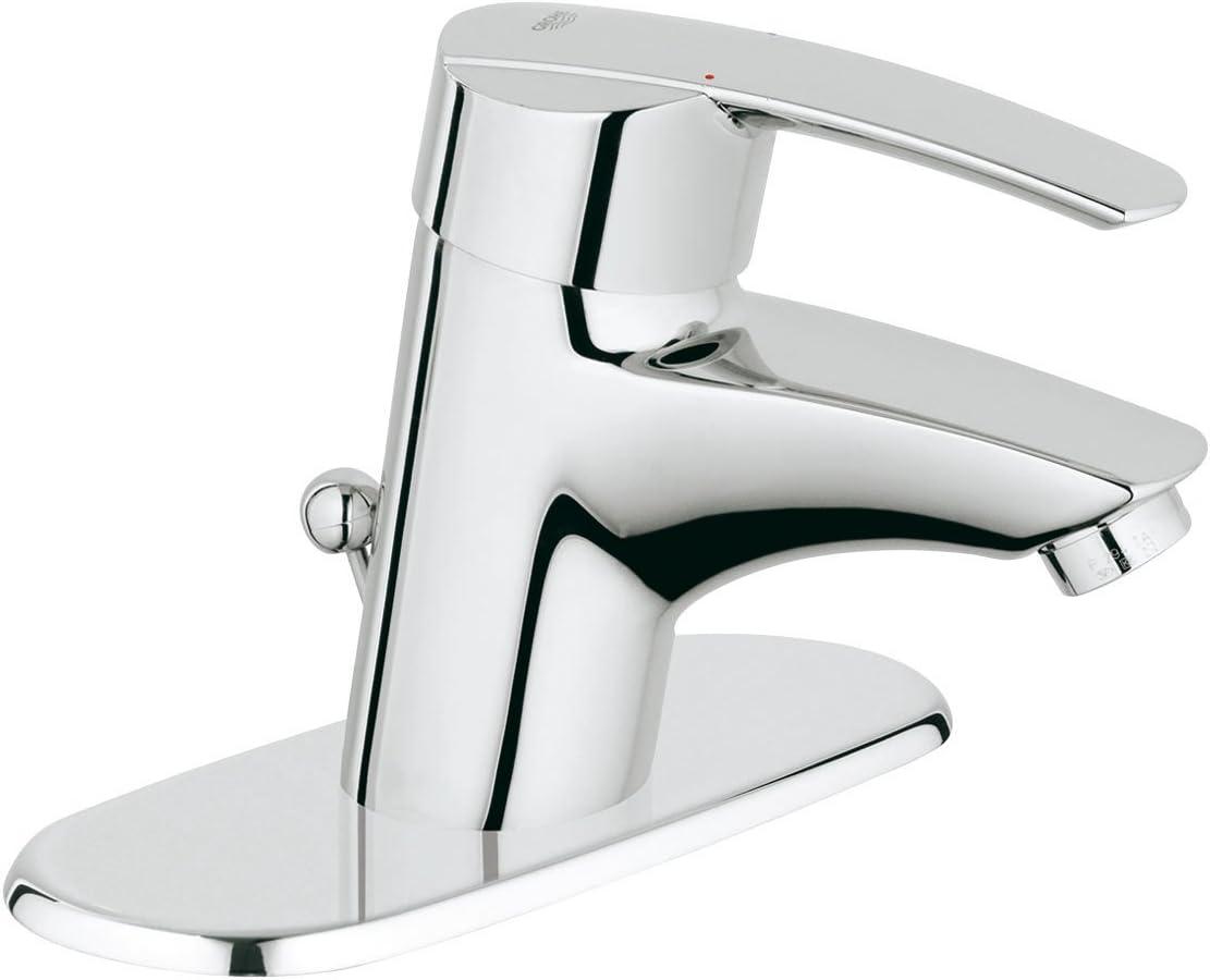 GROHE 23170000 Start Single-Handle Bathroom Faucet with Escutcheon