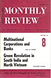 img - for MONTHLY REVIEW, An Independent Socialist Magazine, Volume 29, No. 8, January 1978, includes: Multinational Corporations and Banks, by Paul M. Sweezy book / textbook / text book
