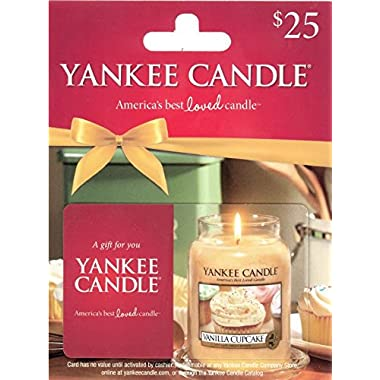 Yankee Candle Gift Card $25