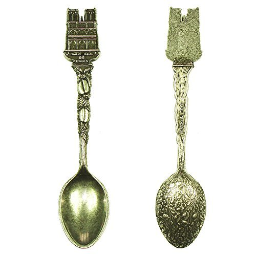 Souvenirs of France - Notre-Dame de Paris Collector's Spoon - Color: Silver