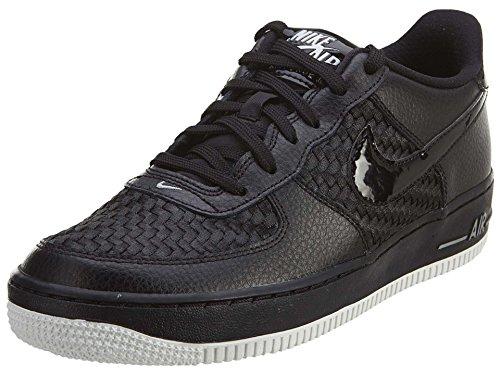 Nike Boys Air Force 1 LV8 (GS) Athletic Shoes (5.5 M US Big Kid, Black/White)