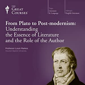 From Plato to Post-modernism: Understanding the Essence of Literature and the Role of the Author Lecture