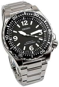 Seiko SRP043K1 - Reloj de hombre automático negro