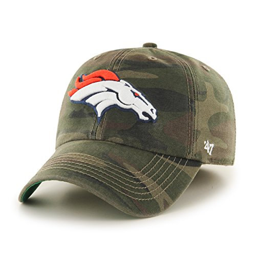'47 NFL Denver Broncos Harlan Franchise Fitted Hat, X-Large, Sandalwood