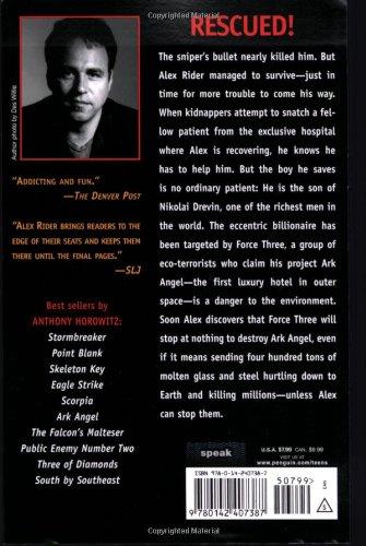 alex rider ark angel summary