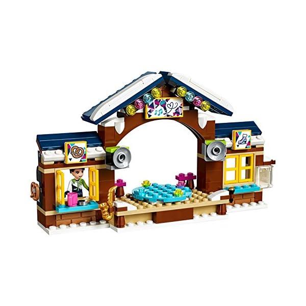 LEGO- Friends Pista di Pattinaggio del Villaggio Invernale Costruzioni Piccole Gioco, Multicolore, 41322 4 spesavip
