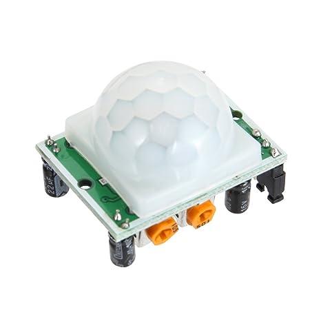 Hrph HC-SR501 Infrarot Sensor Modul Bewegungsmelder Arduino piroeléctrico PIR Detektor