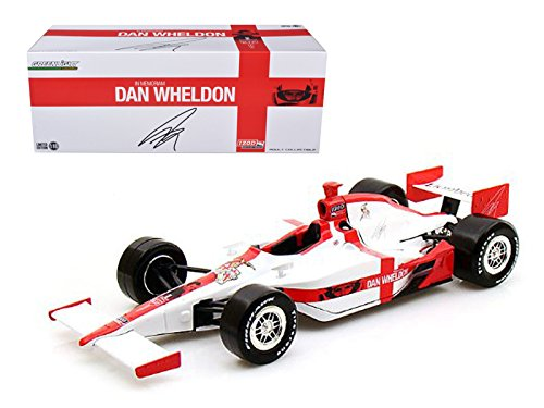 Maisto 2011 Dan Wheldon R.I.P. Lionheart Tribute Indy Car 1/18 Model Car by Greenlight -