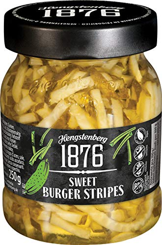 Hengstenberg 1876 Sweet Burger Stripes, 8.8 Ounces