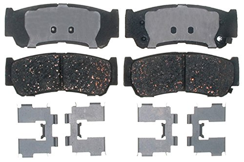 ACDelco 17D1297CH Professional Ceramic Rear Disc Brake Pad -