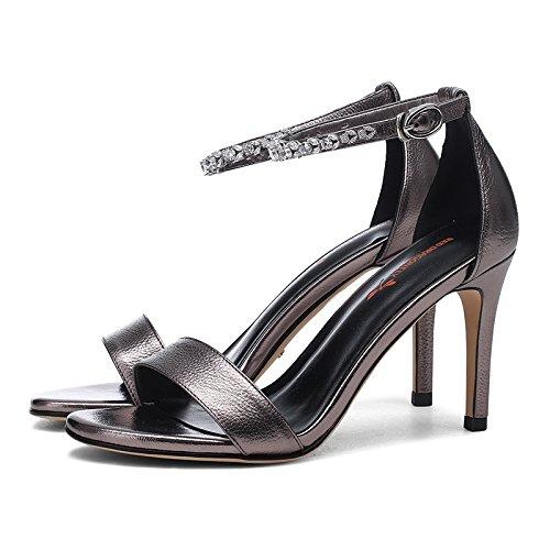 Stykker Vivioo Kvinder-sandaler Med Høje Sandaler Højhælede Damer Schoandandals-sommer-sandaler Fint Med Højhælede Sandaler Kvinder-farven NEGxJ1Y