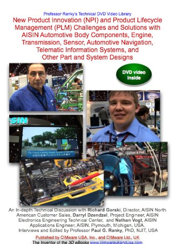 New Product Innovation (NPI) and Product Lifecycle Management (PLM) Challenges and Solutions with AISIN Automotive Body Components, Engine, Transmission, Sensor, Automotive Navigation, Telematic Information Systems, and Other Part and System Designs