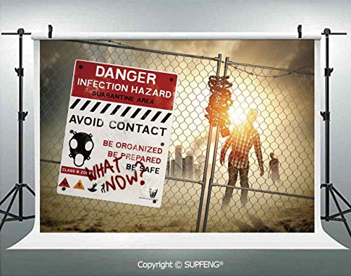Background Dead Man Walking Dark Danger Scary Scene Fiction Halloween Infection Picture 3D Backdrops for Interior Decoration Photo Studio Props]()