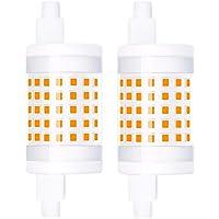 Luxvista Regulable R7s 10W 78mm J78 LED Bombilla, Doble Extremo Reflector Bombilla…