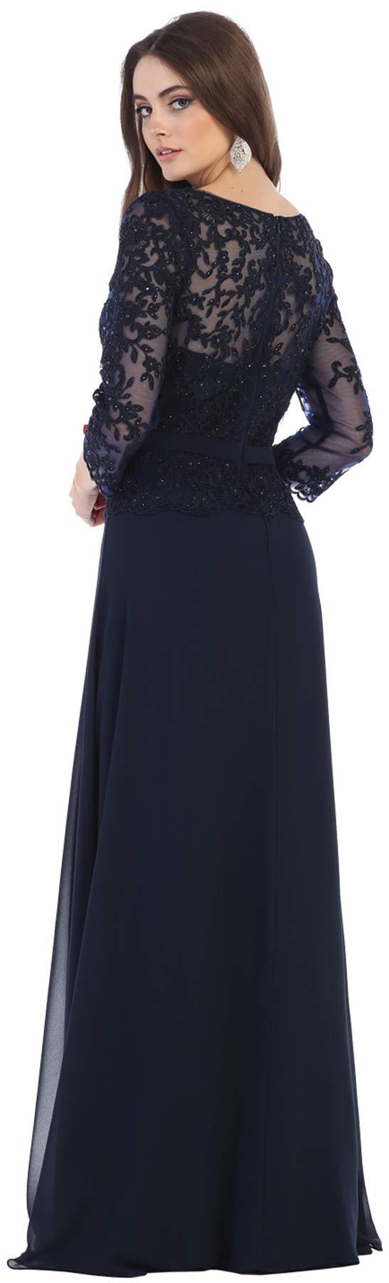 Formal Dress Shops Inc FDS1599 Mother of The Bride Evening Designer Gown