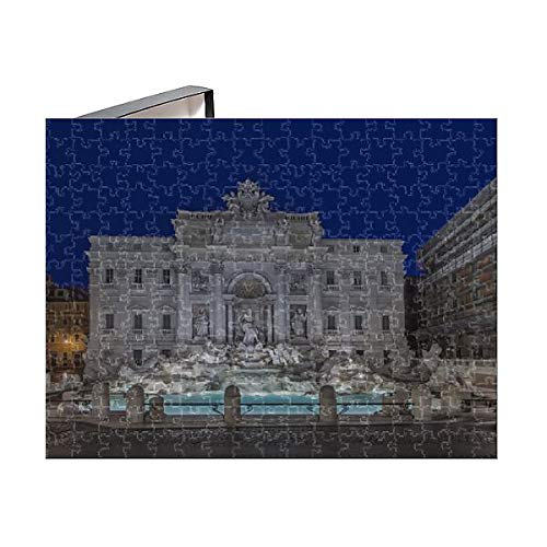 Media Storehouse 252 Piece Puzzle of Europe, Italy, Rome, Trevi Fountain at Dawn (15125945)