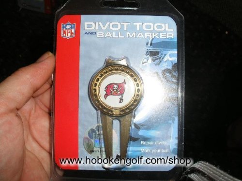 Tampa Bay Buccaneers Repair Tool and Ball Marker by McArthur Sports