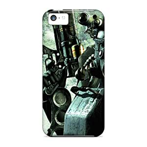 Quality EmptySpiral Case Cover With Fallout 3 New Game Nice Appearance Compatible With Iphone 5c