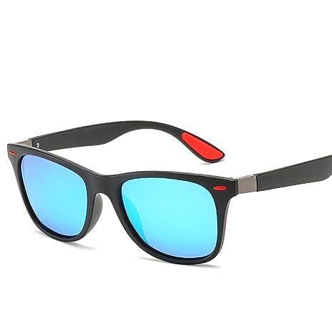 Yangjing-hl Hombres y Mujeres Gafas de Sol polarizadas Mi ...